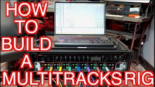 How To Build A MultiTracks Rig - Backing Tracks for Live Performances/Churches