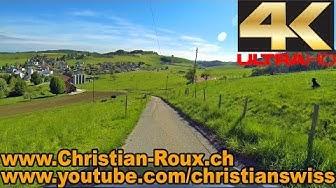 1X FHD - Switzerland 296 (Camera on board): Matran-Le Mouret-Farvagny-Neyruz (Hero3)