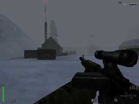 Return To Castle Wolfenstein Map Ice Station Norway YouTube - Norway map game