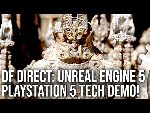 DF Direct: PlayStation 5 / Unreal Engine 5 Reaction - Now This Is Next-Gen!