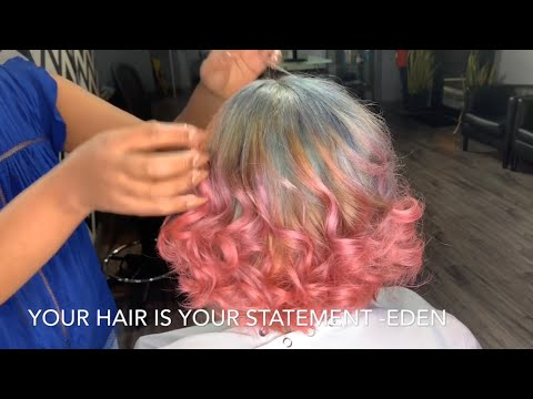 BEST HAIR COLOR TRANSFORMATION!  HAIRSTYLES BY EDEN!