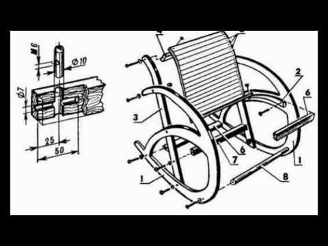 Смотреть Кресла качалки размеры
