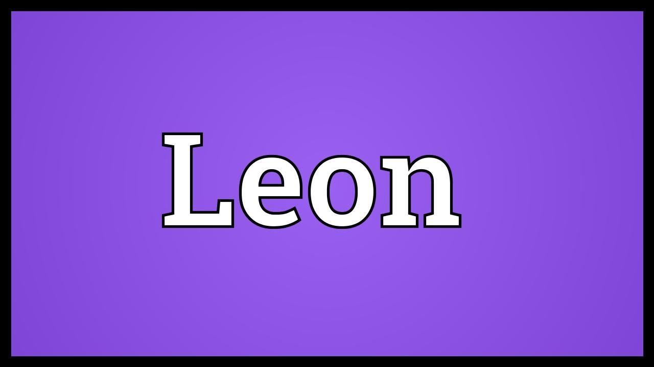 Leon Bedeutung