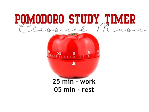 Pomodoro Study Timer -  Classical Music
