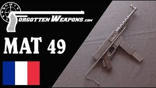 Mat 49: Iconic Smg Of Algeria And Indochina