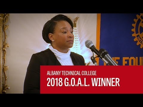 Albany Technical College 2018 G.O.A.L. Winner