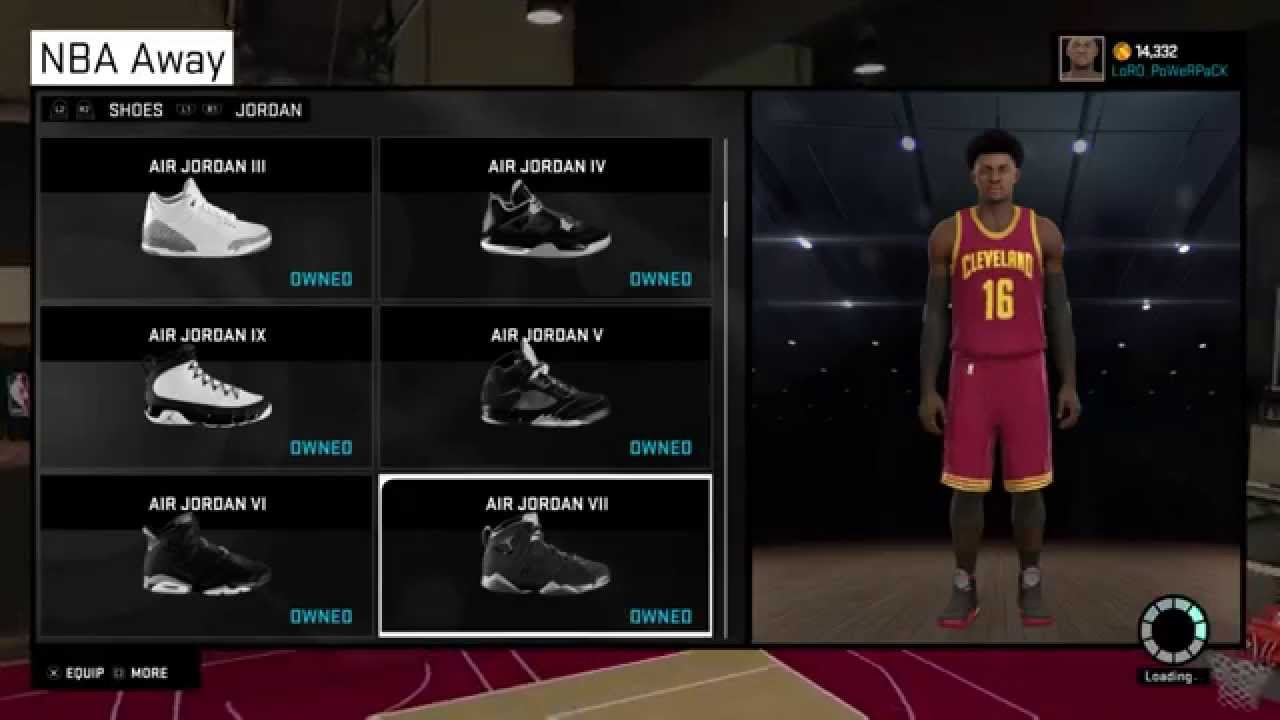 UglyTV - How to NBA 2k15 myplayer Jordan Nike Adidas Contract , Badges ,  myPark news - YouTube
