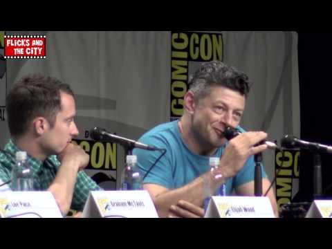 Andy Serkis Gollum Voice at The Hobbit 3 Comic Con Panel