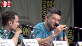 Andy Serkis Gollum Voice at The Hobbit 3 Comic Con Panel