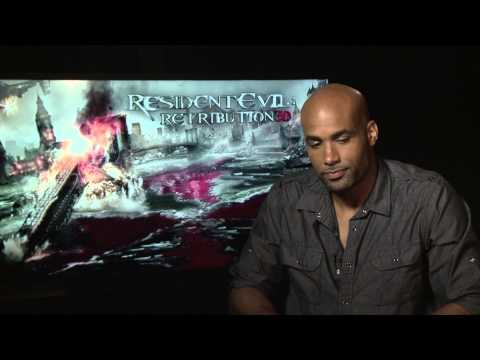 Resident Evil: Retribution (2012) Exclusive Interview: Boris Kodjoe (HD)