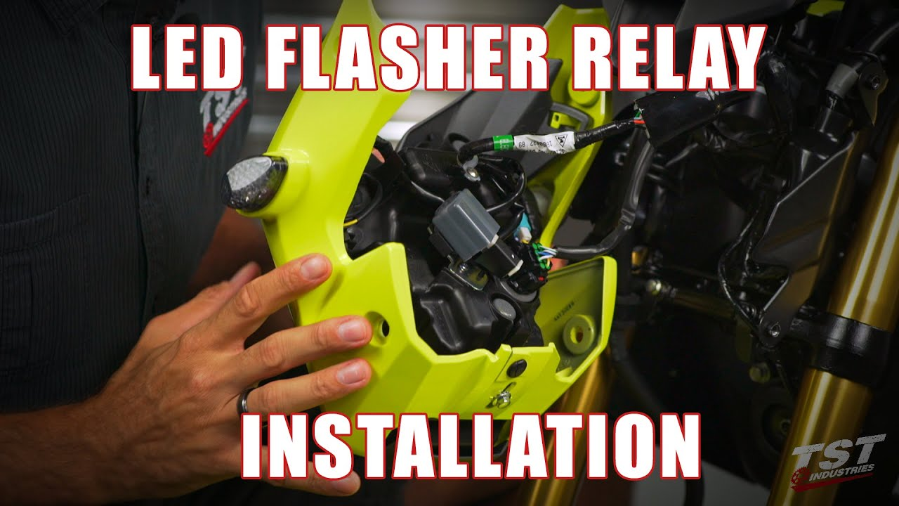 How To Install An Led Flasher Relay On A 2017 Honda Grom By Tst Wiring Industries Youtube