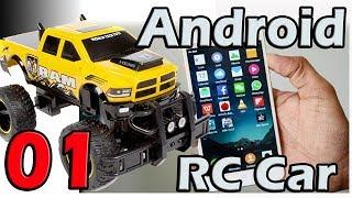 Carro Bluetooth controlado por Android y Arduino - Parte 01
