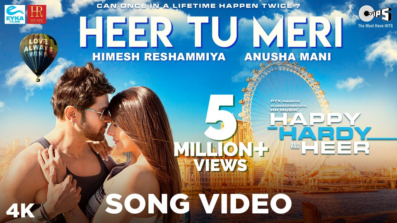 Happy Hardy And Heer | Song - Heer Tu Meri