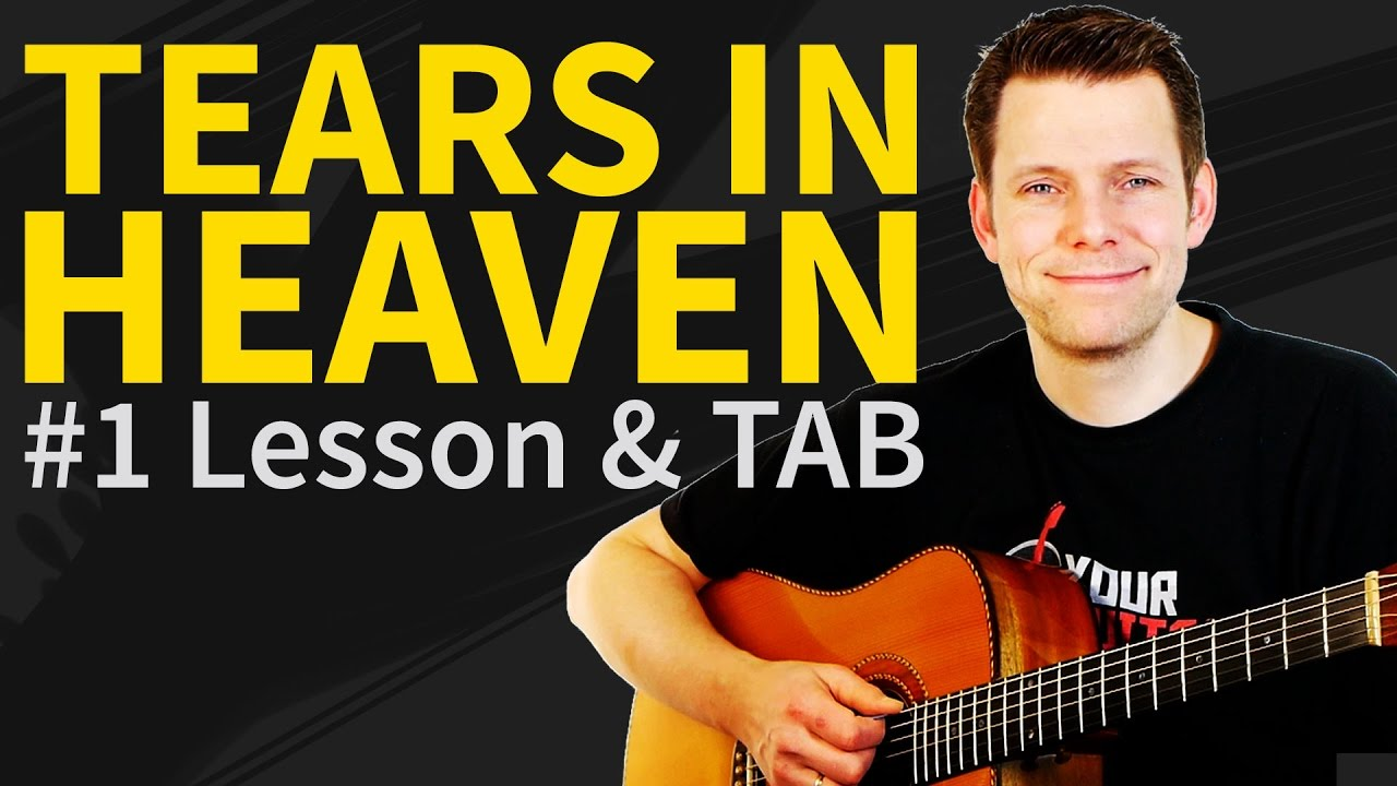 How To Play Tears In Heaven Guitar Lesson Tab Eric Clapton Youtube
