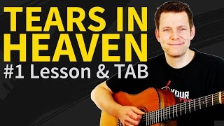 How To Play Tears in Heaven Guitar Lesson & TAB - Eric Clapton