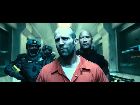 Fast and Furious 7 Jason Statham prison scene