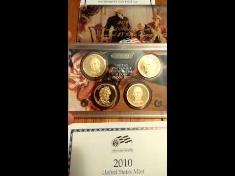 2007-2015 Proof Presidential Dollar Set