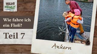 Floßfahren auf der Havel / Teil 7 - Ankern