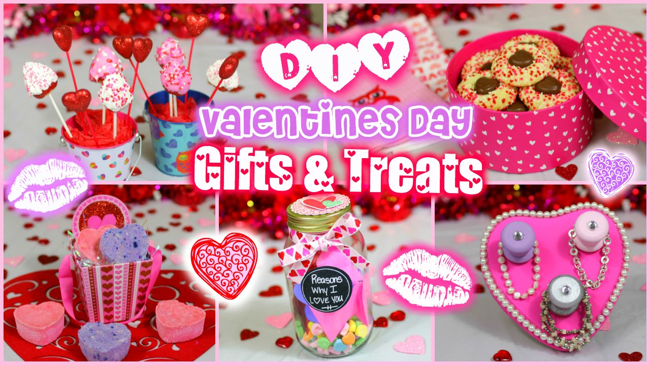 Easy DIY Valentineu0027s Day Gift U0026 Treat Ideas For Guys And Girls!! ❤ |  Jessica Reid   YouTube