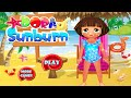 Dora Sunburn Walkthrough - Dora The Explorer Game Episode For Children | Baby Girl Games