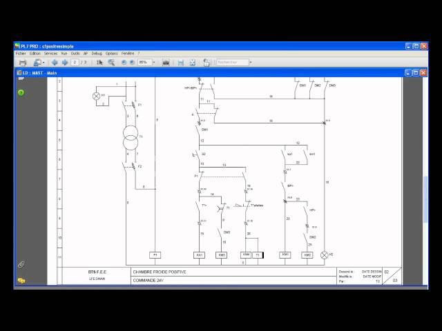 Partie 6 - Programmation d'un automate pour piloter une installation frigorifique