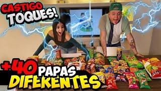 PAPAS CHALLENGE - TOQUES SI NO ADIVINAS EL SABOR