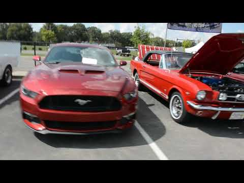 2017 Music City Mustang Club Annual Show Row 1