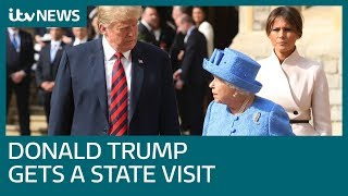 Donald Trump finally gets a UK state visit: So what royal treatment will he get? | ITV News