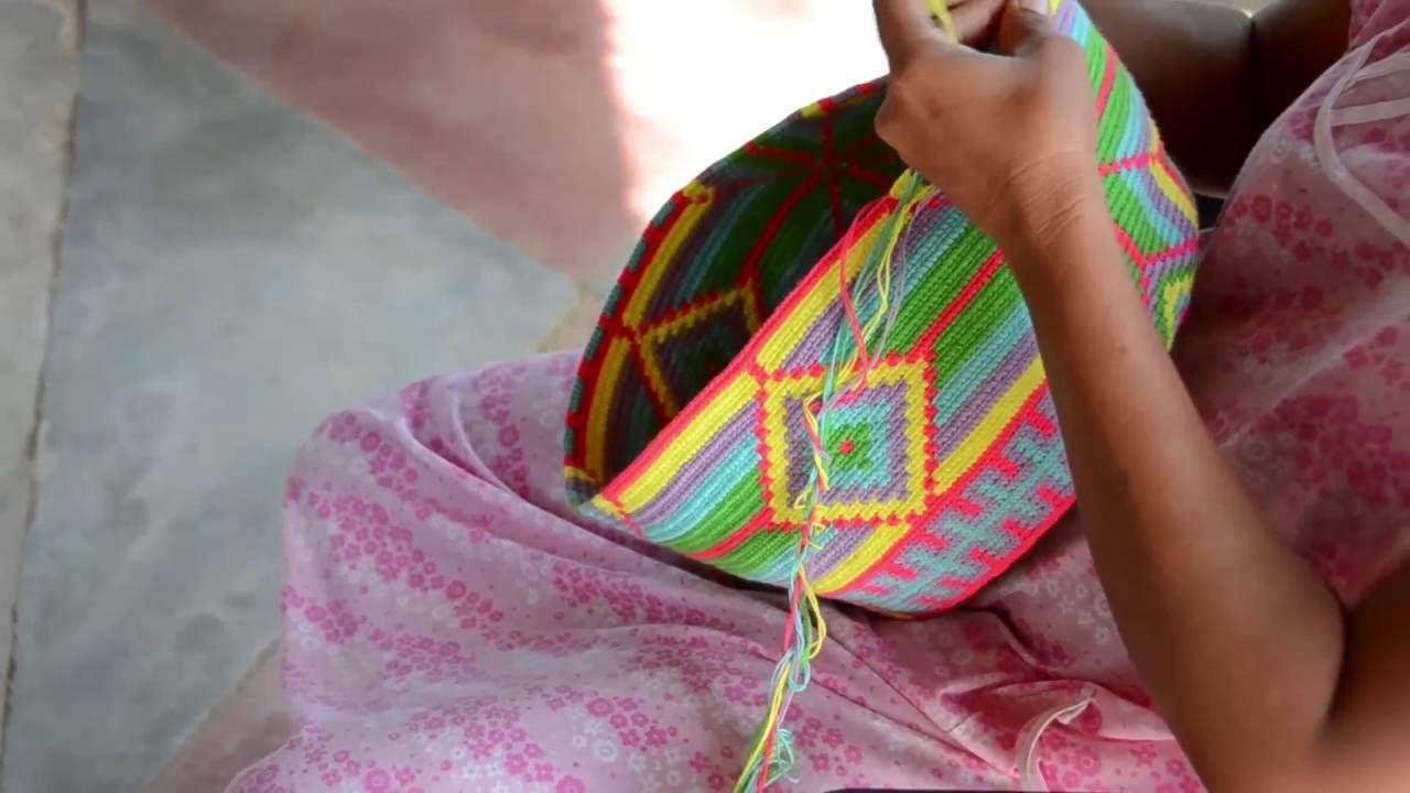 Wayuu Bags From The Wayuu People