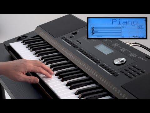 """Play Keyboard (PIANO VOICE)"" Roland E-X20 #02"