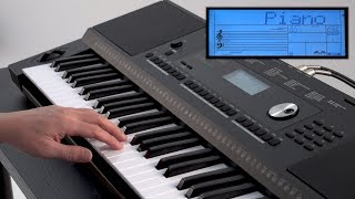 """Play Keyboard (PIANO VOICE)"" Roland E-X20 #02"