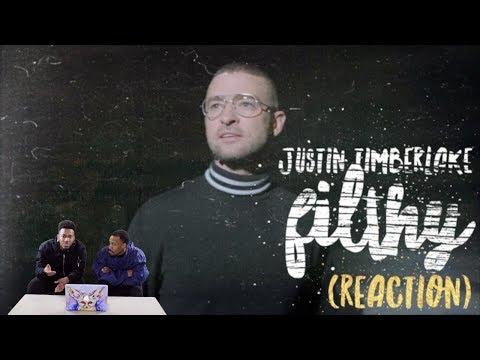Justin Timberlake - Filthy - REACTION