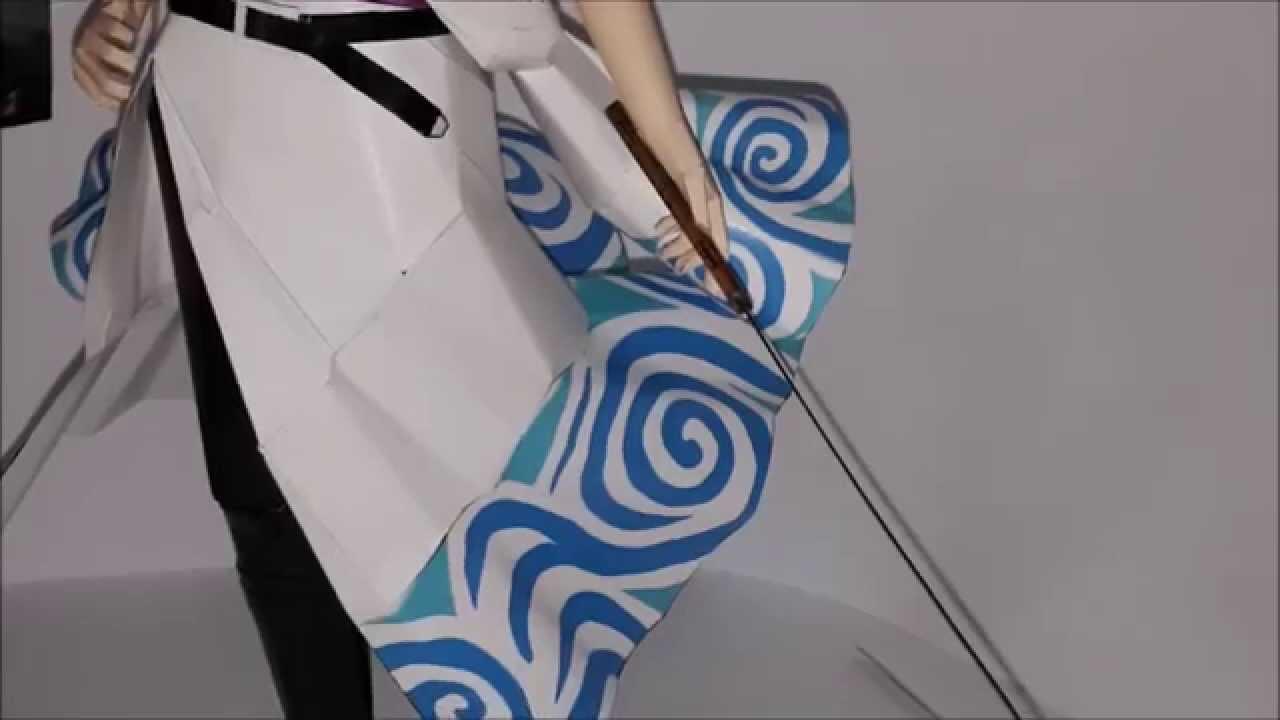 Papercraft Paper Model #4 Gintama.Sakata Gintoki