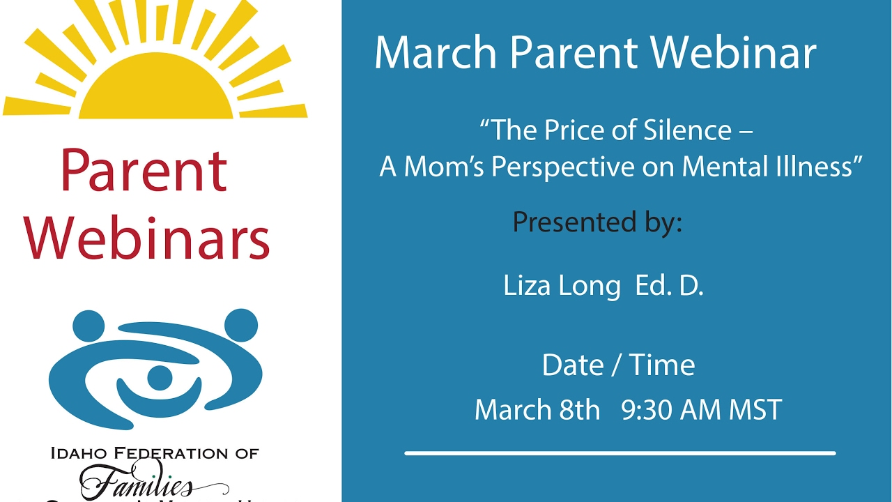 The Cost Of Silence On Mental Illness >> The Price Of Silence A Mom S Perspective On Mental Illness Youtube