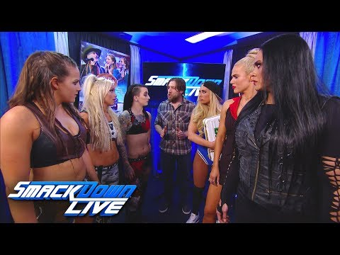 Daniel Bryan adds a stipulation to Charlotte Flair vs. Natalya: SmackDown LIVE, Dec. 5, 2017