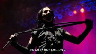 Marilyn Manson - I Want To Kill You Like They Do In The Movies (subtitulado español)