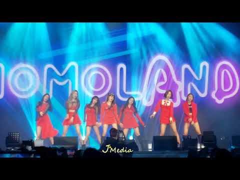 2019.4.4 {BAAM} Momoland fanmeeting 2019 hello merry go HONG