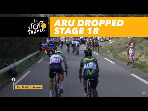 Aru is dropped - Stage 18 - Tour de France 2017