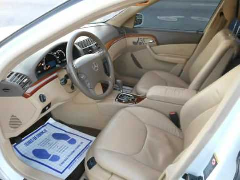 Superb 2001 Mercedes Benz S430 NAVIGATION HEATED SEATS, BOSE Sound System, MEMORY  SEATS /w Lumbar.