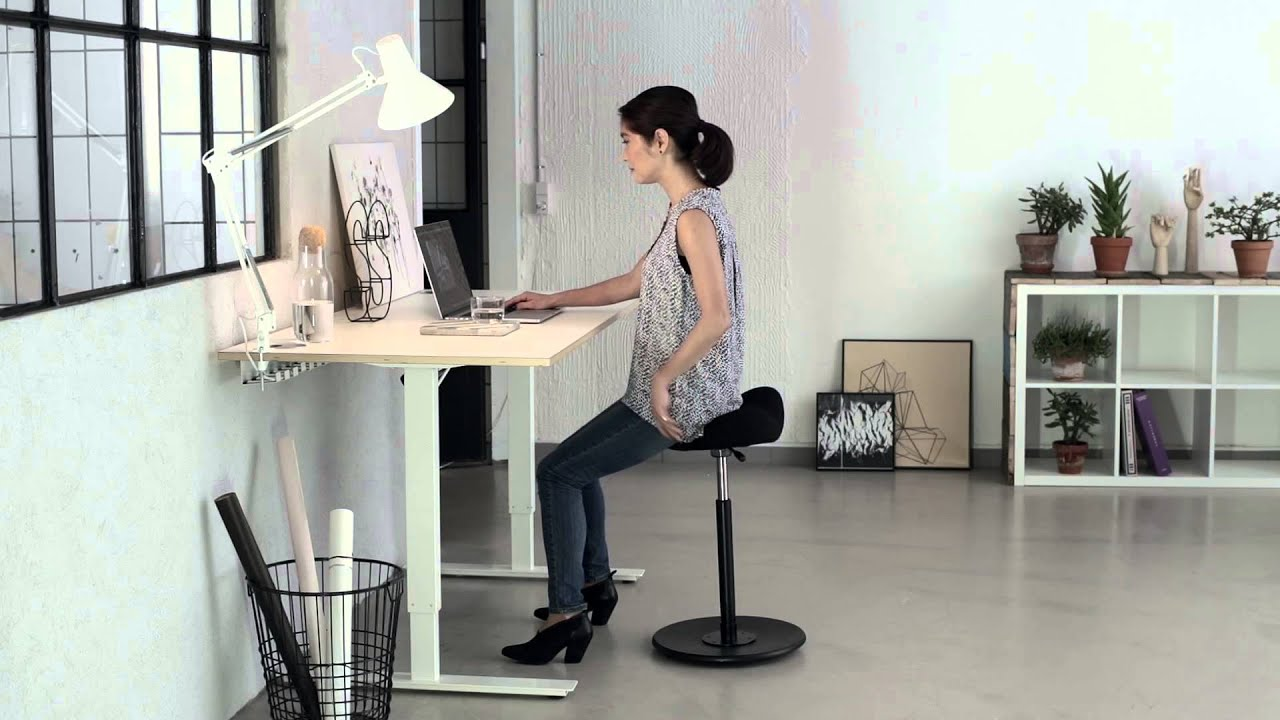 Move From Varier Furniture At Office Desk Youtube