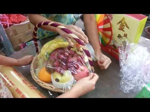 Fruit Baskets & Mixed Flower Bouquets | Singapore Florist