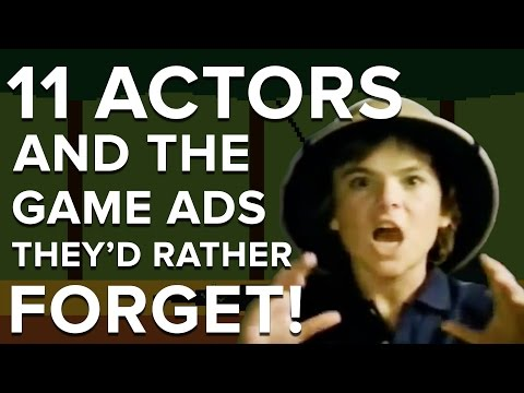 11 actors and the game ads they'd rather forget