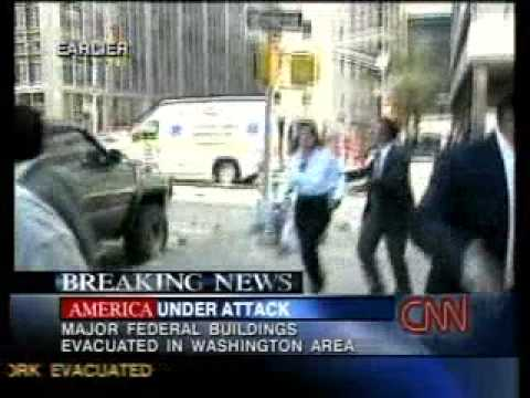 9/11 News CNN Sept. 11, 2001 12 58 pm - 1 39 pm September 11, 2001