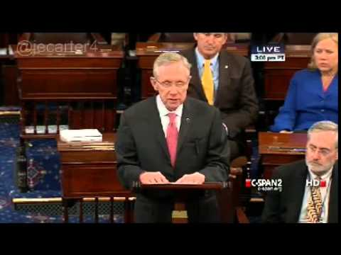 Harry Reid to Ted Cruz: You Are a Schoolyard Bully - May 6, 2013
