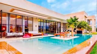 Location villa de luxe Marrakech top design avec 5 suites