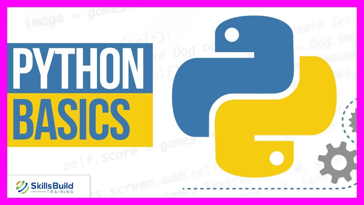 Python Basics for Beginners 🔥 Python Tutorial for Beginners