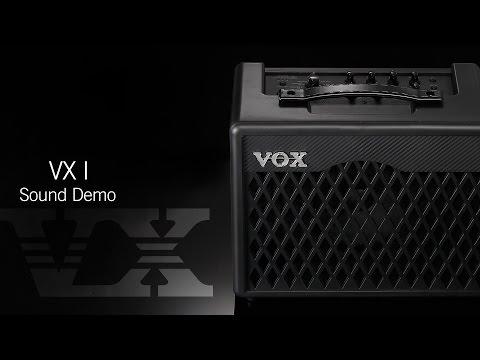 VOX VX Series: VXI Sound Demo