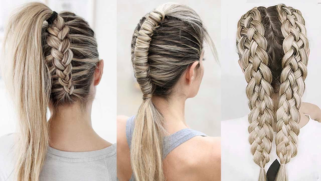 7 Cool And Pretty Braids Hairstyle Tutorial Diy Youtube