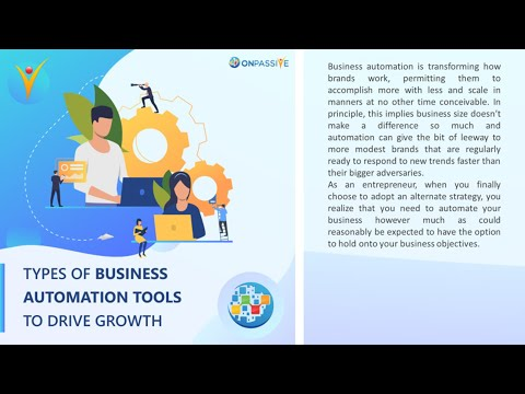 Types Of Business Automation Tools To Drive Growth