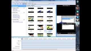 Como Fazer um anime Com o Paint e Windows movie Maker